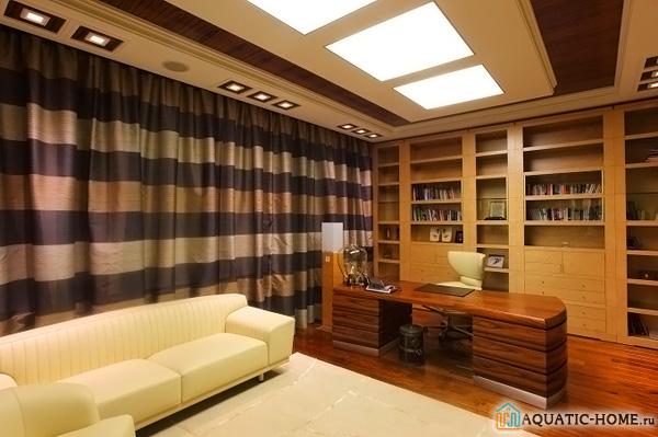 Элегантное украшение потолка