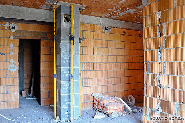 Вентиляционные каналы должны закладываться еще на этапе строительства дома