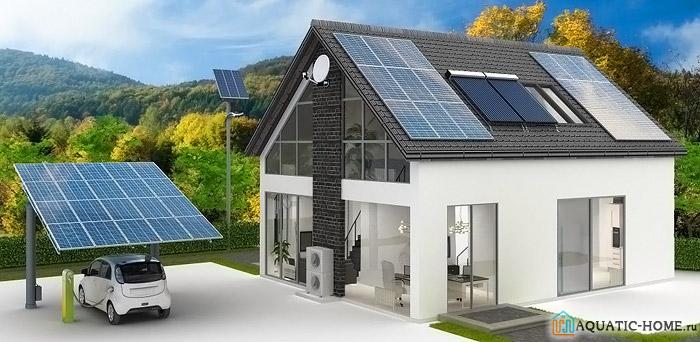 Солнечные батареи для дома: стоимость комплекта