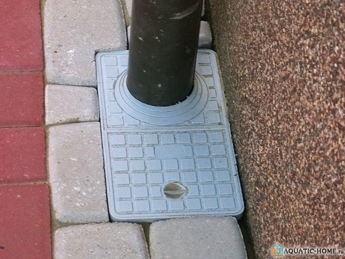 Вариант устройства для водостока