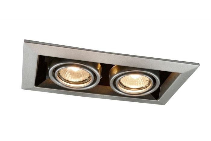 Увеличенный корпус с двумя лампами устанавливается в местах, где необходим больший световой поток