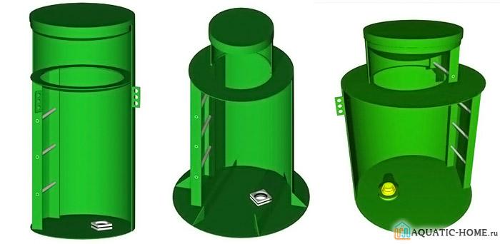 Варианты устройства оборудования для скважины