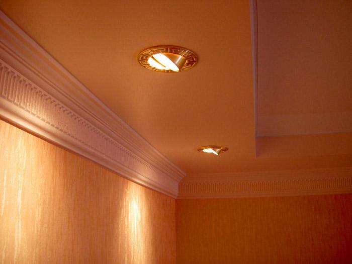 Полная гармония интерьера и приборов освещения