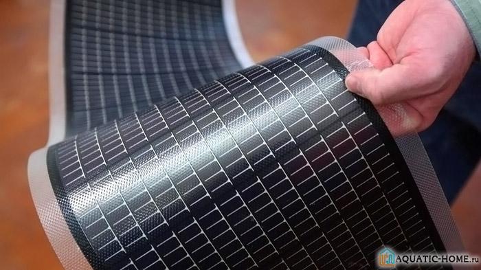 Панели изготовлены из полупроводниковых материалов