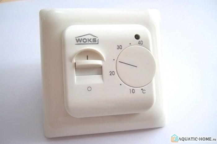 Механический аналог для управления температурой теплого пола