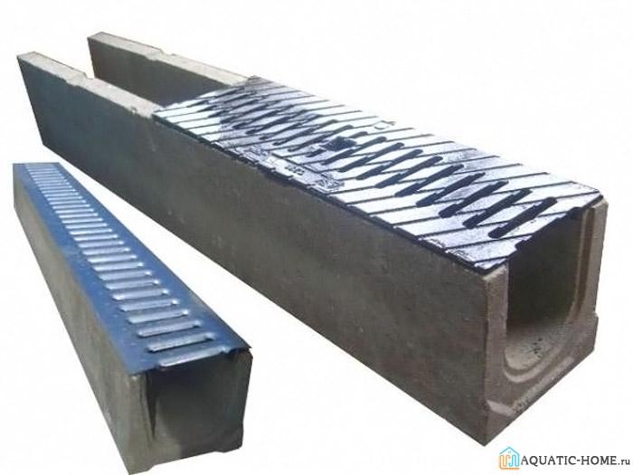 Бетонные изделия также оснащаются защитными решетками