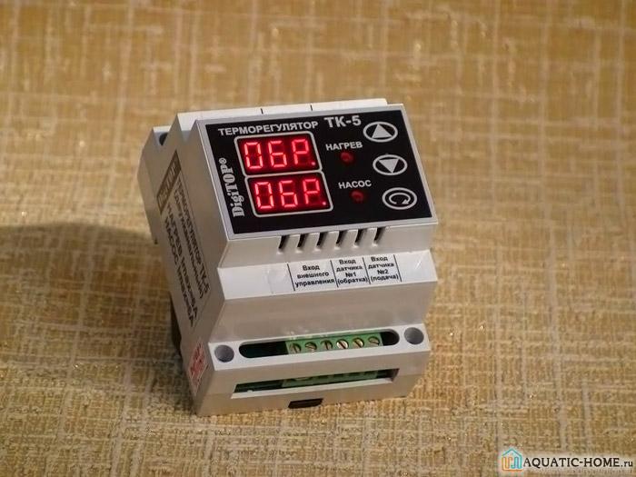 Электронная модель для управления температурным режимом