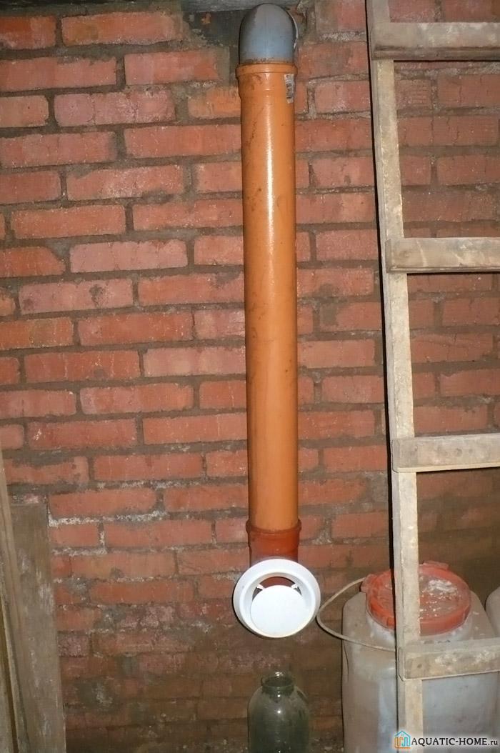 Труба для обеспечения внутреннего пространства свежим воздухом