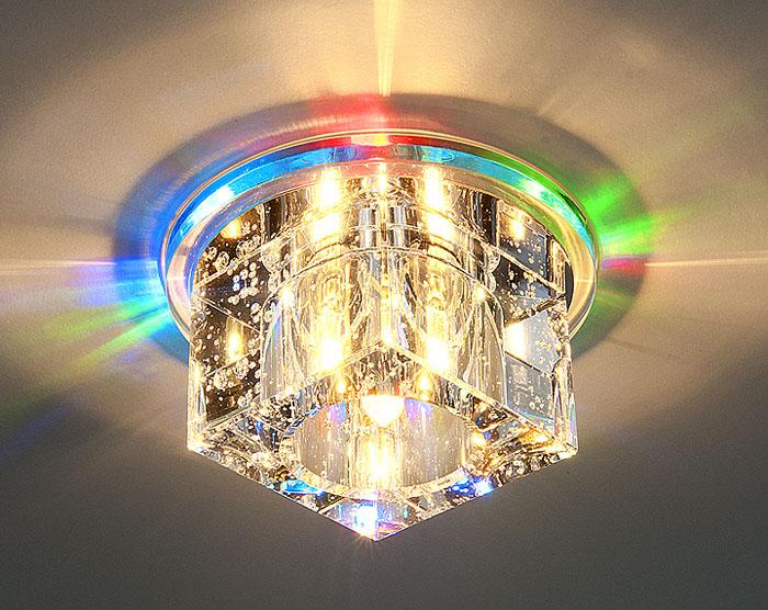 Эффектная лед-лампа, которую можно установить в любой комнате на любой потолок