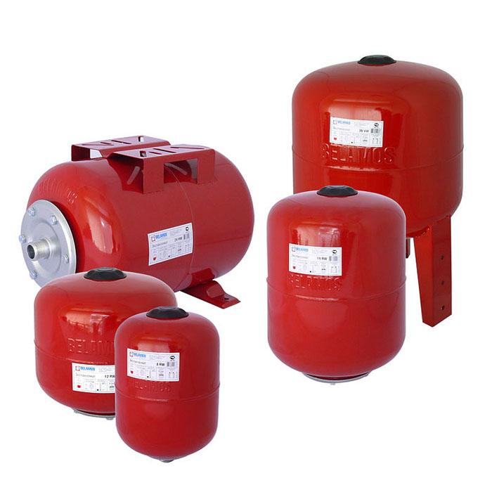 Применяют расширительные баки закрытого типа, чтобы исключить попадание паров химических соединений в атмосферу
