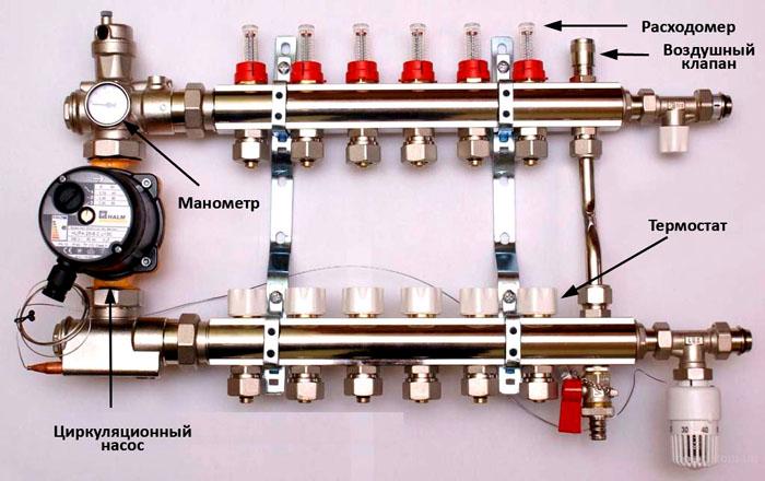 Устройство насосно-смесительного узла