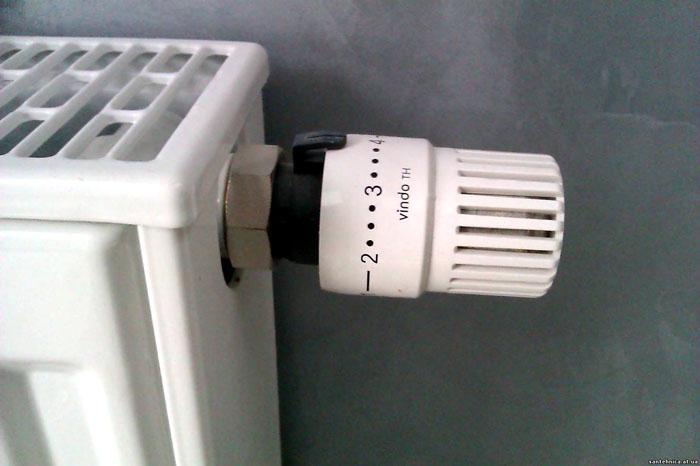 Термоголовка для регулятора требует настройки