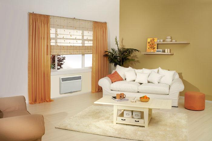 Конвекторы оснащены термодатчиками и легко регулируются