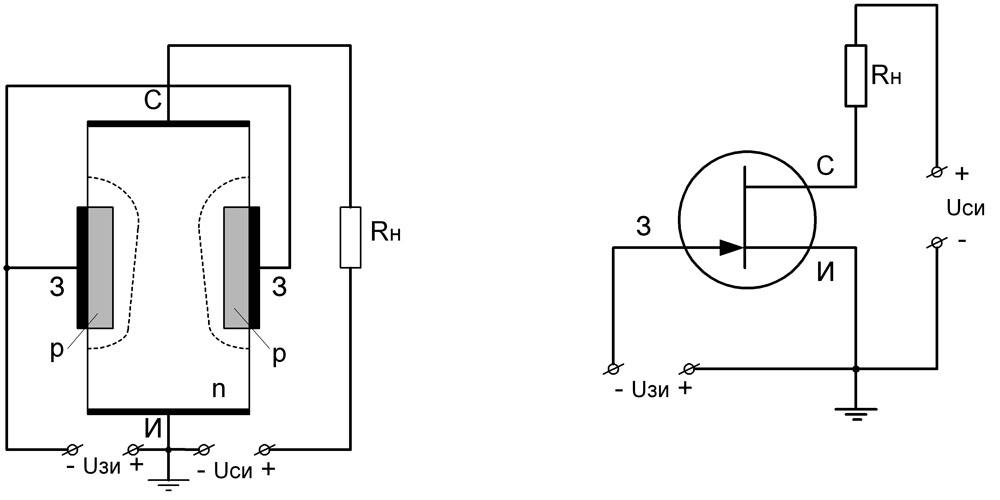Полевой n-канальный транзистор