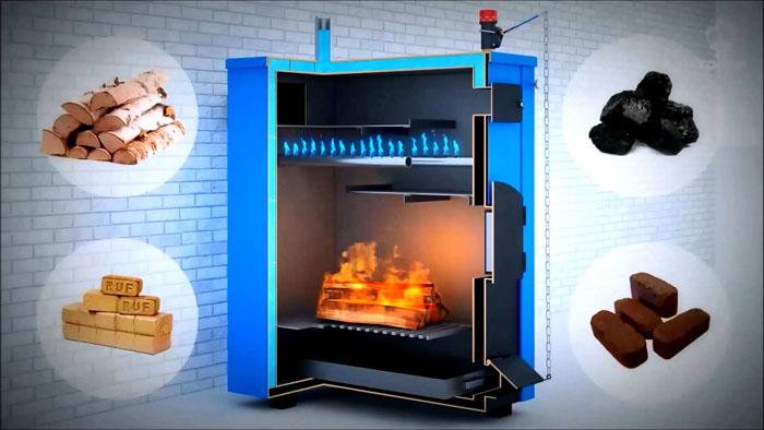 После замены горелки котел будет выполнять свои функции в полном объеме с применением другого топлива