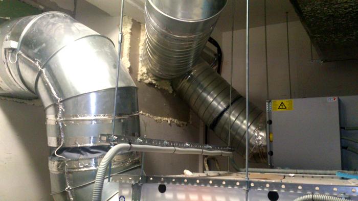 Приточно-вентиляционная система в промышленных масштабах