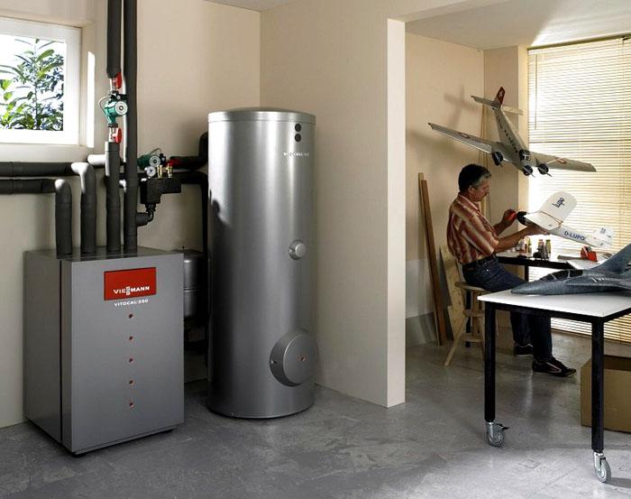 Современные модели отопительного оборудования выглядят эстетично