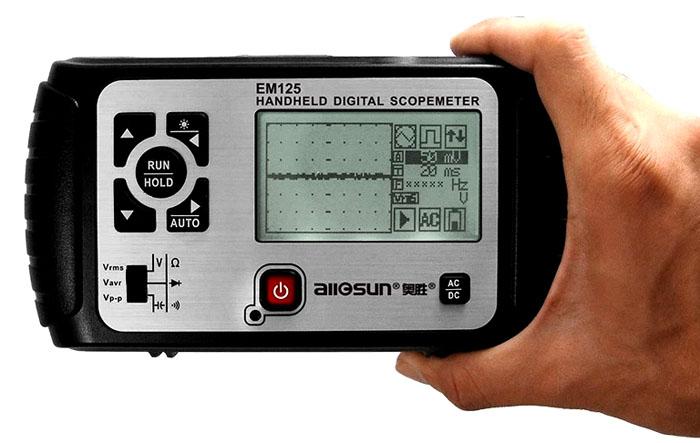 Такой аппарат выполняет функции мультиметра и осциллографа