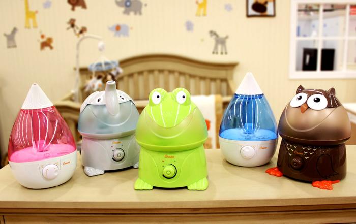 Для детской комнаты лучше всего подходят ультразвуковые увлажнители