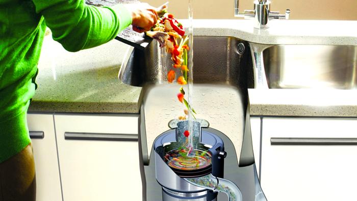 Измельчитель пищевых отходов для раковины