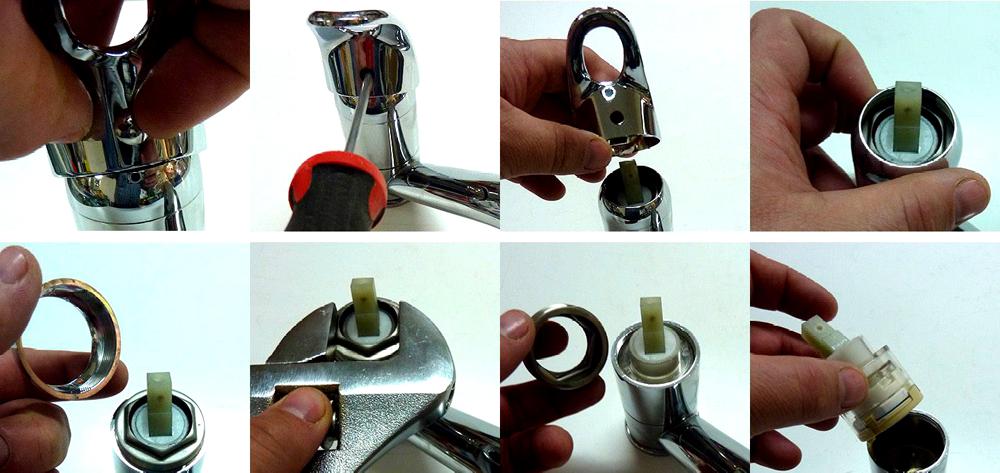 ремонт шарового крана видео