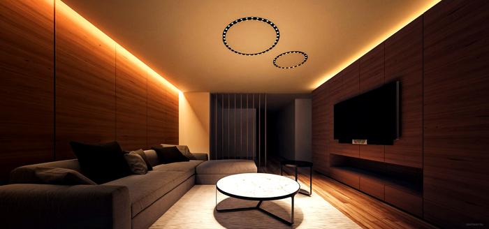 Использование отдельных элементов позволяет создать единый замысел для освещения