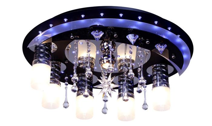 Точечные светильники со светодиодной подсветкой