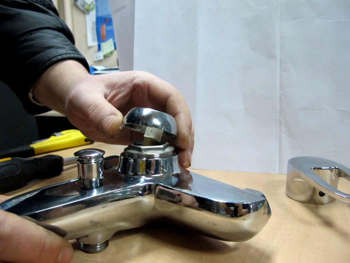 Смеситель однорычажный устройство и ремонт