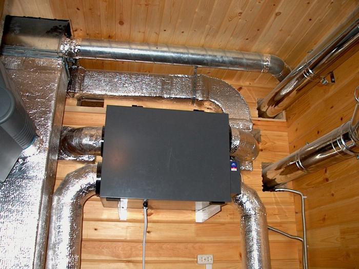 Смонтированная и теплоизолированная установка