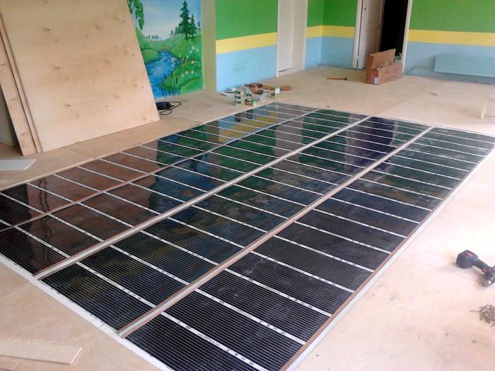 Плёночный тёплый пол: отзывы, расход электроэнергии