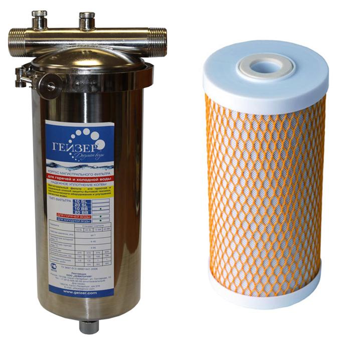 Прибор из нержавейки, применим как холодной, так и к горячей воде