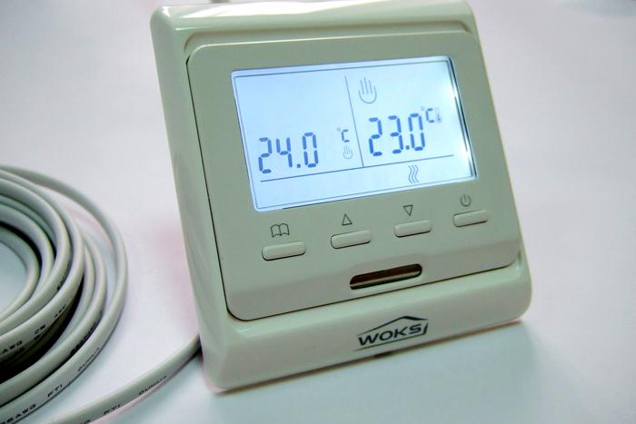 Один из вариантов внешнего исполнения терморегулятора