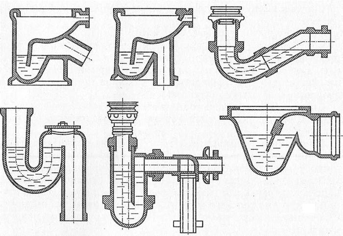 Гидрозатвор для канализации своими руками 80