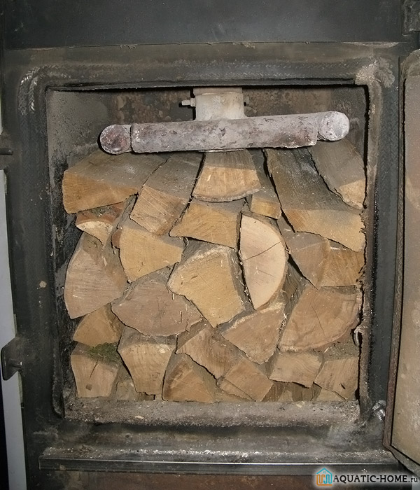 Правильная укладка дров