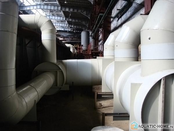 Вентиляционная система из пластика