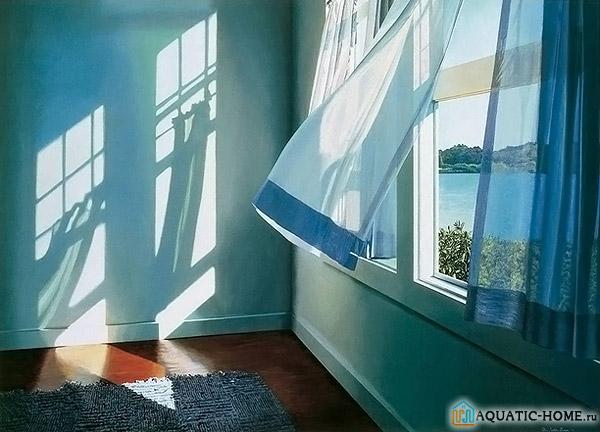 Проветривание окнами и дверьми