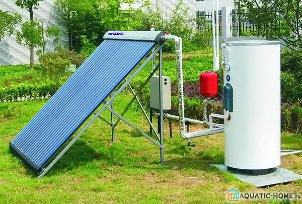 Солнечный нагреватель воды