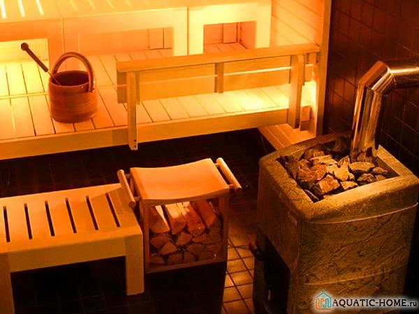 Русская баня на дровах отличается от всех остальных необычным колоритом