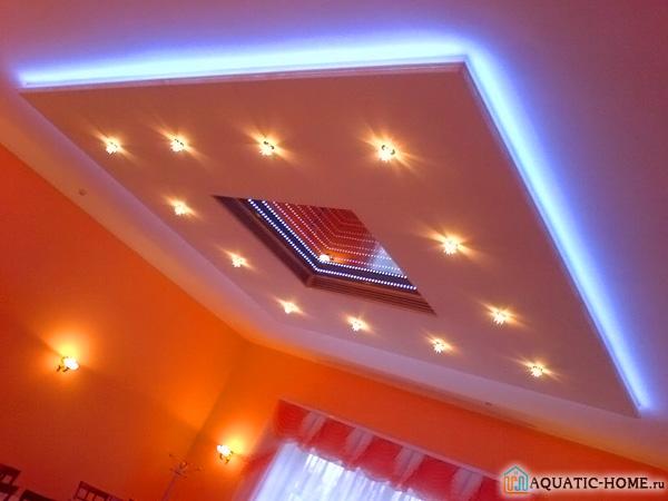 Дизайн с помощью светодиодных конструкций