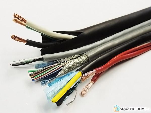Правильно подобранный кабель исключает возможность возгорания