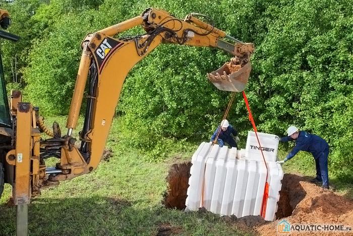 Монтировать конструкцию удобнее с помощью спецтехники