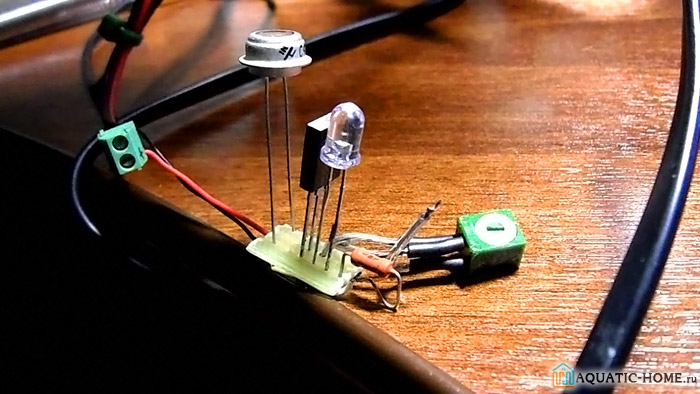 Простейшее фотореле, работающее на одном транзисторе