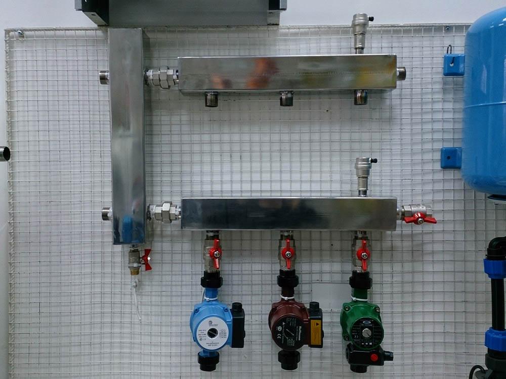 Вариант использования гидроразделительного оборудования