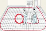 Монтажные схемы водяных теплых полов в частном доме.