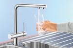 Смесители для кухни с краном для питьевой воды.