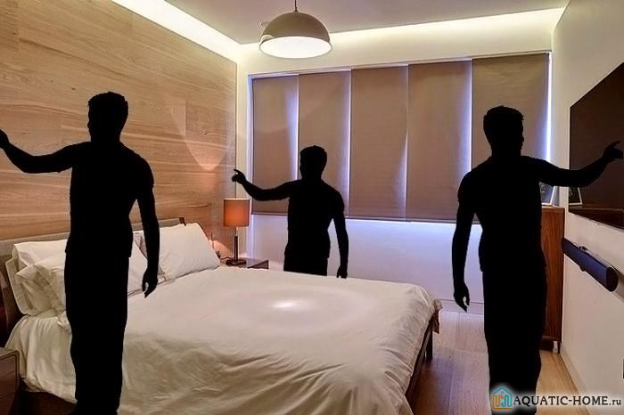 Надо уточнить места в помещениях, где необходимо иметь управление освещением
