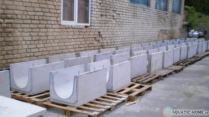 Компоненты из бетона