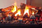 Электрокамин с эффектом живого огня.