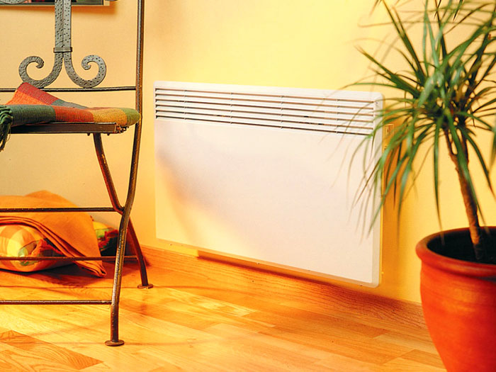 Компактность и нейтральный дизайн настенного нагревателя не ухудшат эстетические параметры любого интерьера