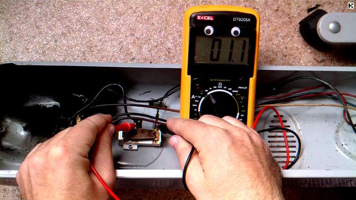 Ремонт электрообогревателя лучше доверить профессионалу